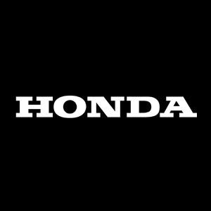 vintage motorcycle number honda decal
