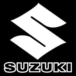 Suzuki S Text Decal Vintage Motorcycle Numbers