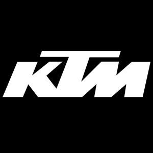 Ktm Logo Iron On Vintage Motorcycle Numbers