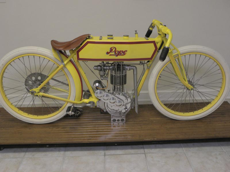 Vintage Motorcycle 1913 Pope Board Track Racer