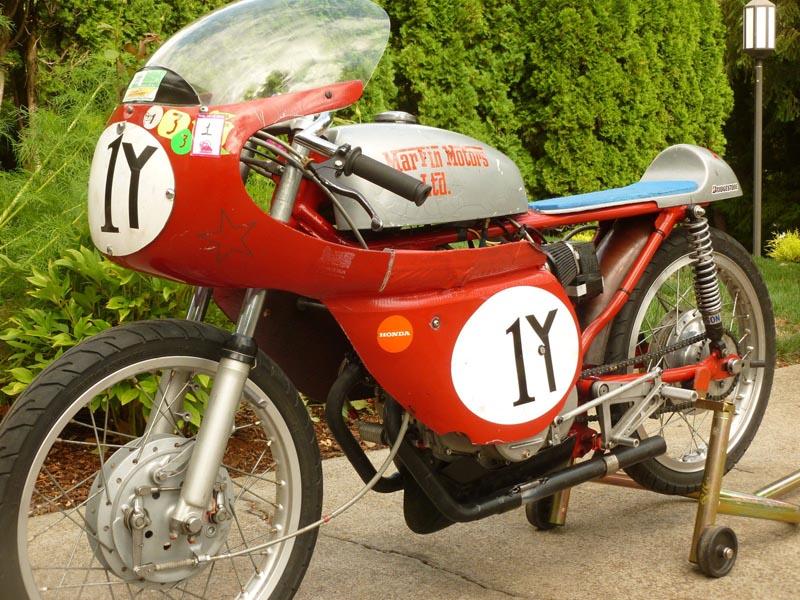 Vintage Motorcycle 1966 Honda CB160 F160 GP200
