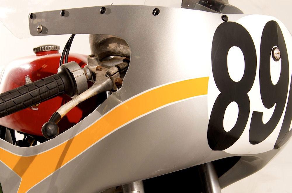 Vintage Motorcycle 1963 Honda 250 Road Racer