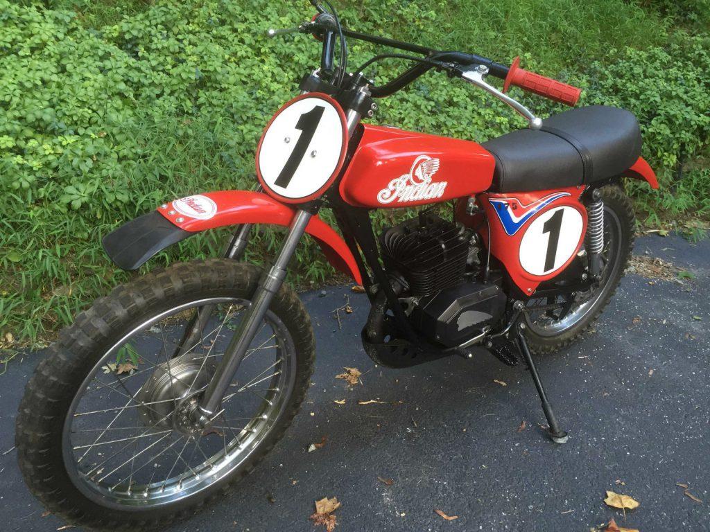Vintage Motorcycle 1976 Indian MT-175