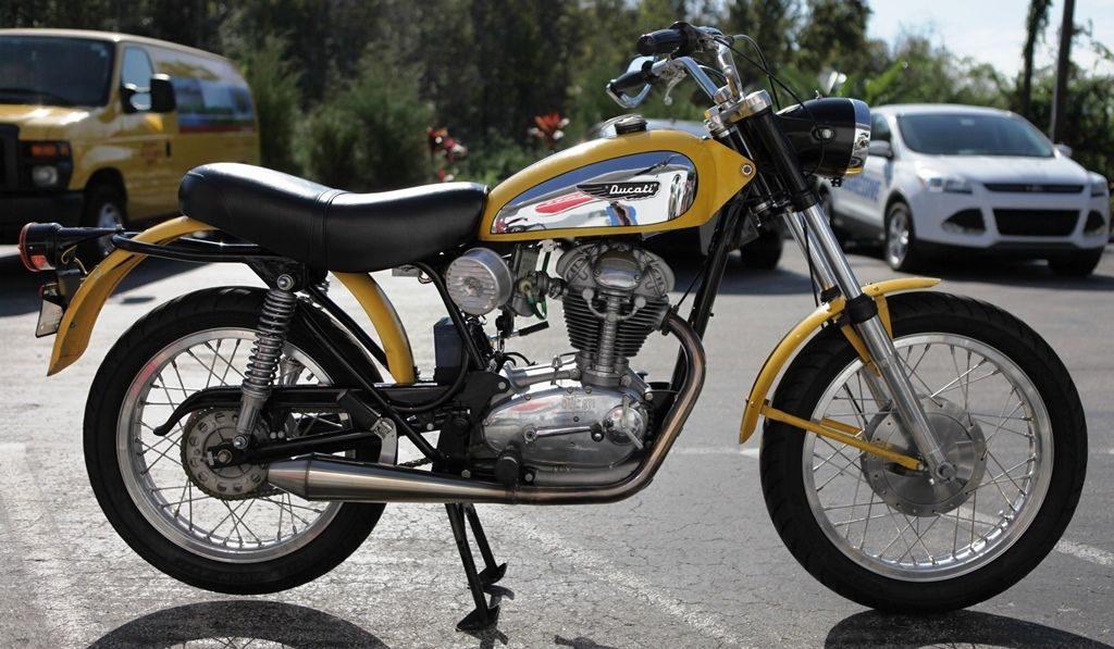 1969 Ducati 250 Scrambler - FL - Vintage Motorcycle Numbers