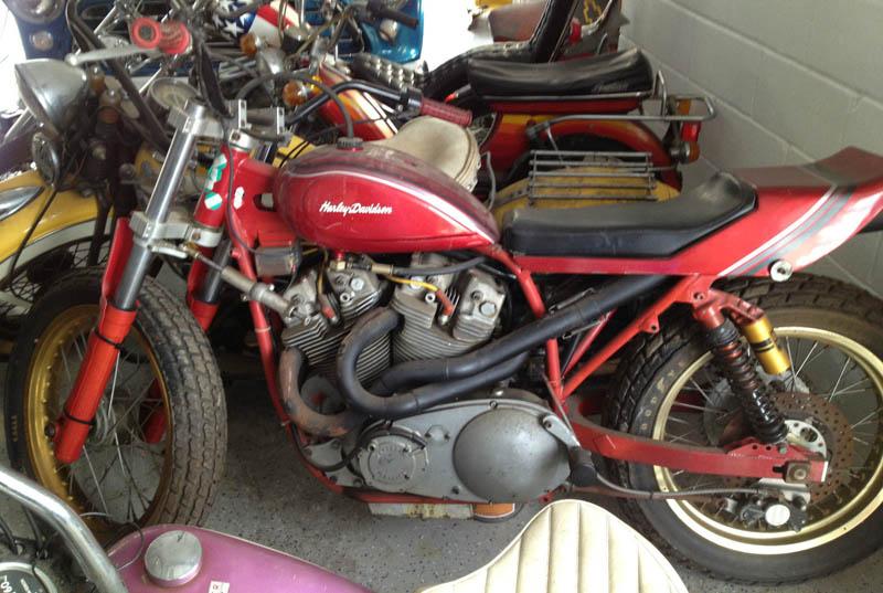 Vintage Motorcycle Harley Davidson